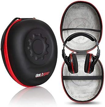 Deco Gear Full-Sized Premium Hard Body Professional Headphone Case