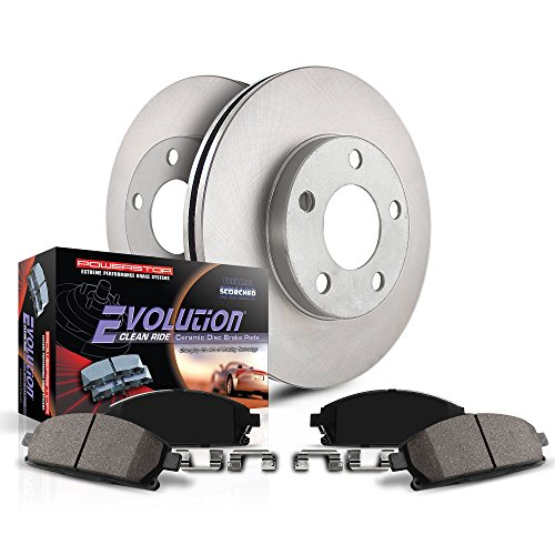 Autospecialty (KOE5976) Daily Driver OE Brake Kit, Front (2012 Ford Focus Brake Pads And Rotors)