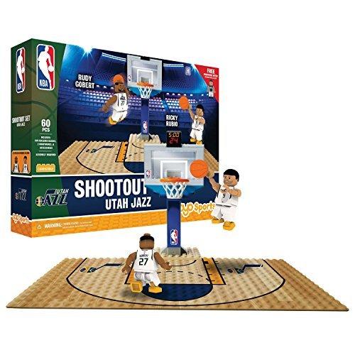 fan products of NBA Utah Jazz Display blocks Shootout Set, Small, No color