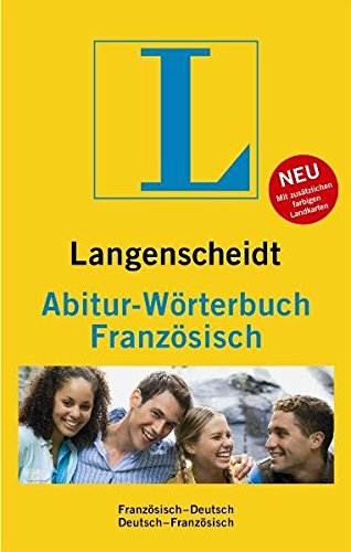 Langenscheidt Abitur-Wörterbuch Französisch: Deutsch-Französisch/Französisch-Deutsch (Langenscheidt Abitur-Wörterbücher)