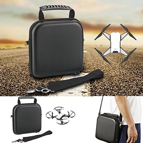 Dji tello Accessories For DJI Tello Drone Waterproof Carrying Case/Battery Tote Bags (Black) by Drone_Tello