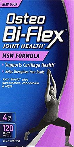 (Osteo Bi Flex Joint Care Msm Formula, Twin Pack, 120+120)