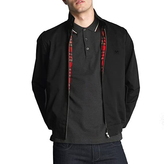 Merc London Mens Retro Harrington Jacket