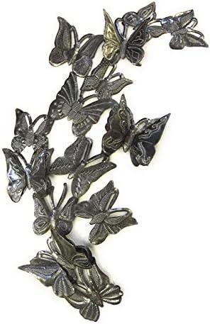 Garden Butterflies Wall Sculpture