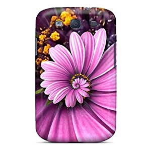 New Purple Droste Cases Covers, Anti-scratch CarlHarris Phone Cases For Galaxy S3