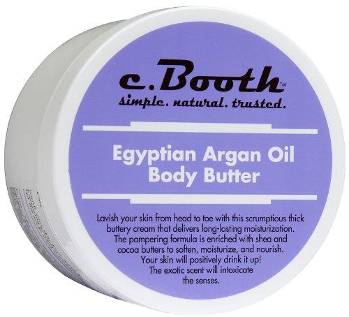 C. Booth Body Butter, Egyptian Argan Oil 8 oz (227 g)