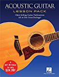 Acoustic Guitar Lesson Pack: 5 Best-Selling Guitar Publications in One Great Package! 4 Books and 1 DVD