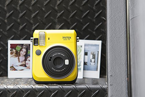 Fujifilm Instax Mini 70 - Instant Film Camera (Yellow)