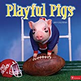 2017 Playful Pigs Wall Calendar