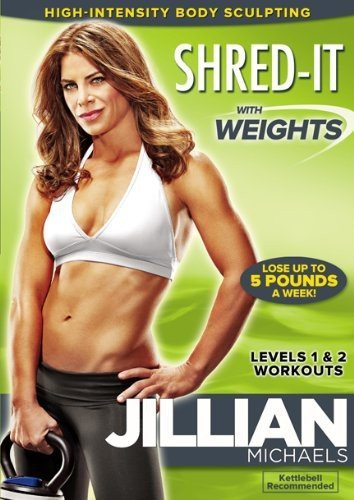 Jillian Michaels: Shred-It With Weights (30 Day Butt Lift Before And After)