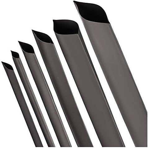 ISOLATECH/® Gaine thermor/étractable 2:1/noir S/électionen 12/tailles et 5/longueurs M/ètre ici: /Ø 12mm//–/Longueur: 30ft 9/M/ètre