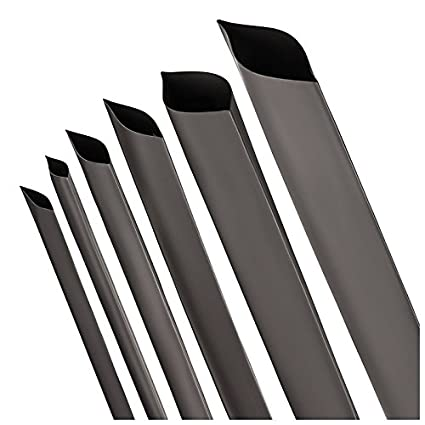 ISO-PROFI® Heat Shrink Tube 2:1Black Selection of 10diameters and 6Lengths (here: Ø 20mm–Lenght: 4m)