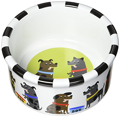 (Signature Housewares Pooch Dog Bowl, Small)