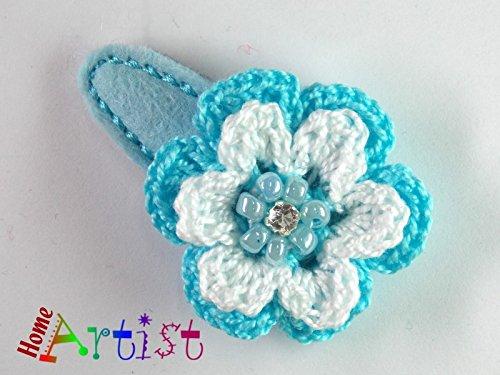 Baby Spange Blume geh/äkelt freie Farbwahl