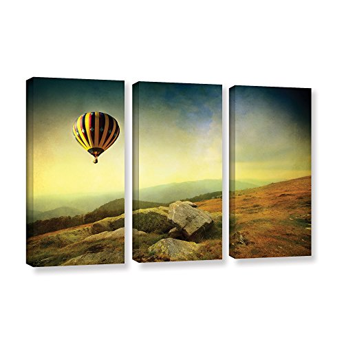 "UPC 640823094925, ArtWall 3 Piece ""Dragos Dumitrascu's Keys To Imagination Iii"" Gallery Wrapped Canvas Artwork, 36"" x 54"""