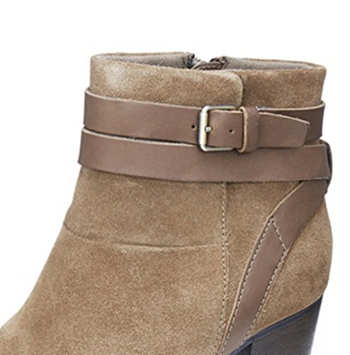 Taupe 4 UK Enfield 37 Detail Olive 5 5 River Ankle EU Clarks with Combi Boot Buckle 0vqwUO