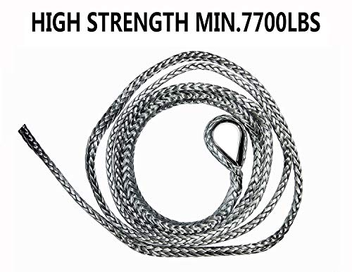 A-FUN Synthetic Plow Lift Rope 68560 1/4