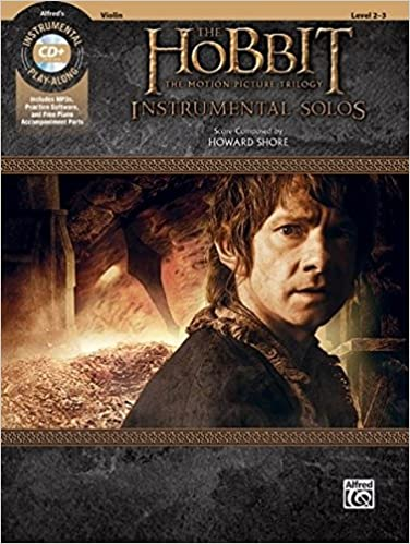 The Hobbit Book and CD The Motion Picture Trilogy Instrumental Solos for Strings Violin