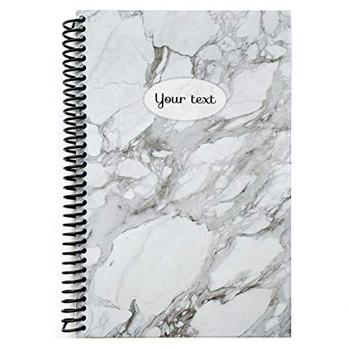 Personalized Marble notebook (Unlined ()