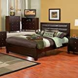 Solana Upholstered Panel Bed (Full)
