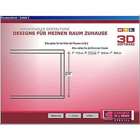 RTL 3D Software 2.0   Einsatz In 4 Wänden: Tine Wittler: Amazon.de: Software