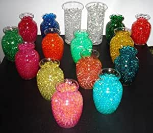 20pk agua guardar Gel cuentas–todos caso jarrón de regalo–You get 20diferentes colores–Hechas En Estados Unidos. Original perlas de agua
