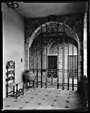 16 x 20 Reprinted Photo of Southern Architectural Virginia House, Mexican Ironwork and Aztec Pottery, Richmond, Henrico County, Virginia 1939 Johnston Frances Benjamin 08a