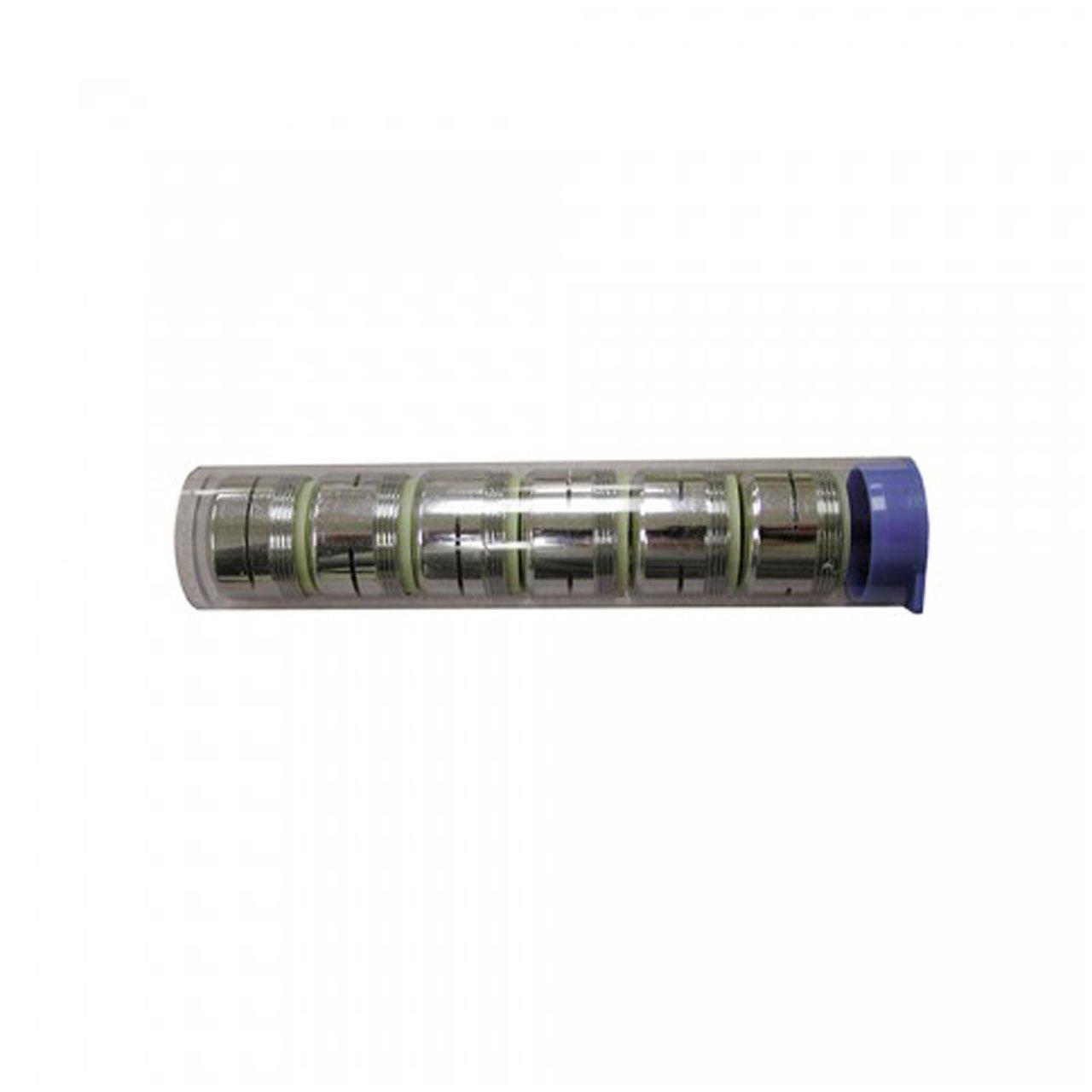 Jones Stephens A01020 Dual Thread Slotted Full Flow Aerator, Small