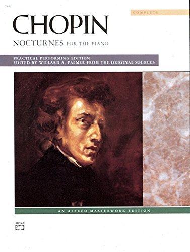 Chopin -- Nocturnes (Complete): Comb Bound Book (Alfred Masterwork Edition)