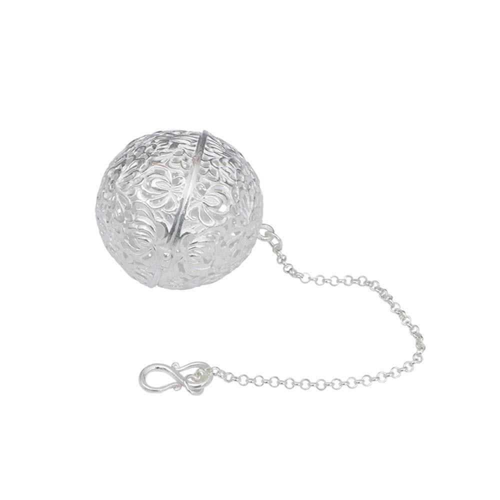 Filters Interval Diffuser 1.5 Inch Mesh Tea Ball Infuser Strainers ZPF Silver Tea Strainer Suitable for Home Office Gift Seasoning Tea