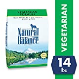 Image of Natural Balance Vegetarian Formula Dry Dog Food, Brown Rice, Oat Groats, Barley & Peas, 14 Pounds, Vegan