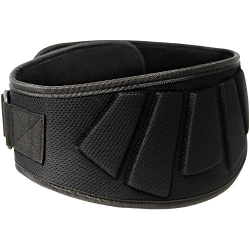 "Meister Contoured Neoprene Weight Lifting Belt 6"" Back Support"