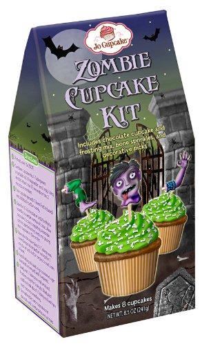 Halloween Zombie Cupcake Kit