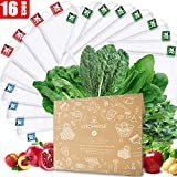 Kitchwise Reusable Grocery Produce Bags Ecofriendly Bags Set of 12