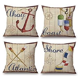 5165muJbsqL._SS300_ 100+ Nautical Pillows & Nautical Pillow Covers