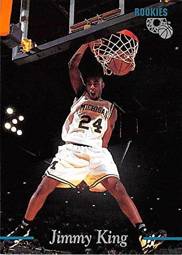 Jimmy King basketball card (Michigan Wolverines NCAA Fab Five) 1995 Classic #33 Rookie (Ncaa Card Basketball)