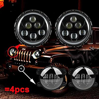170106-Jeep 60W 7inch headlight package