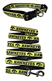 Iowa Hawkeyes Nylon Collar and Matching Leash for Pets (NCAA Official by Pets First) Size Large