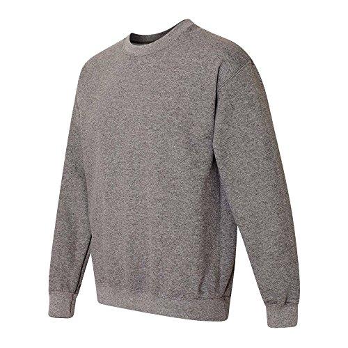 Gris Chiné Femme Gildan Graphite Sweatshirt ECwq4