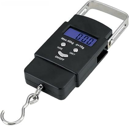 ee6e51424930 Amazon.com : Plus Mi Life 50kg 10g LCD Digital Fish Hanging Luggage ...