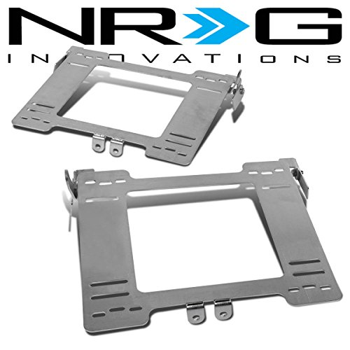 NRG For VW Golf/Jetta/Beetle Tensile Stainless Steel Racing Seat Mounting Bracket (Left & Right) - MK4