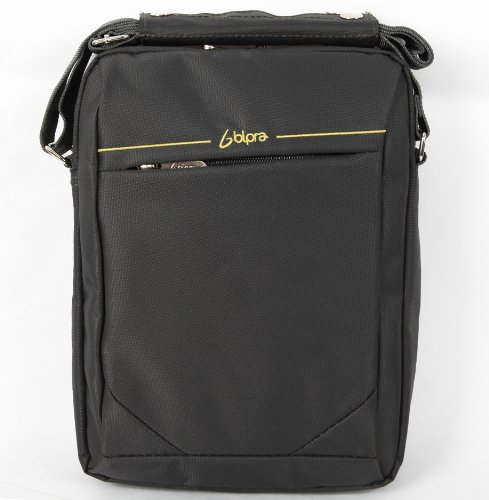Bipra 10.2 Netbook Messenger Bag Compact Suitable for 10.2 Inch Devices Netbook Laptop Computers, Tablets, Ipad