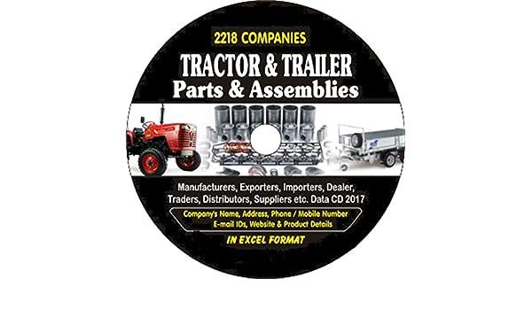 Amazon com: Tractor & Trailer Parts & Assemblies Companies Data
