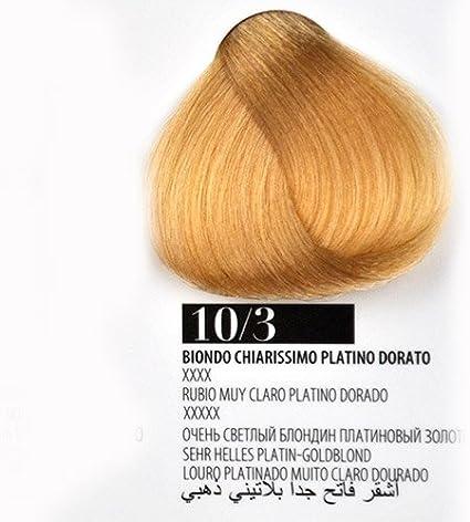 Tinte Cabello 10/3 Rubio Claro Dorado farmagan Hair Color Tubo 100 ml