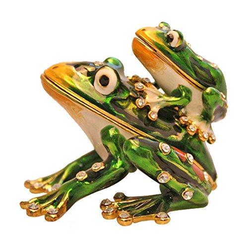 Enamel Frog Box - 6