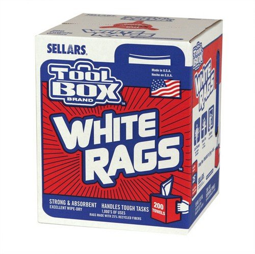 (200CT WHT Painters Rags)