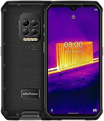Ulefone Armor 9 (2020),Imagen Térmica 4G Móvil Resistente,Helio P90 Octa Core 8GB RAM + 128GB ROM, cámara 64MP, FHD+ 6.3