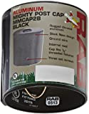 RAB Lighting MMCAP2B Mighty Post Metal Caps and Box for 2'' Pipe, Aluminum, 2-3/8'' OD x 2-3/4'' Height, Black