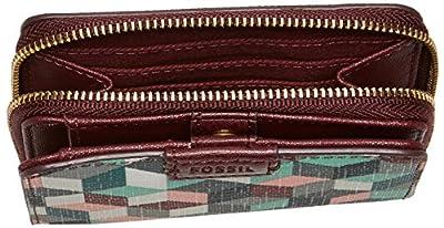 Fossil Emma Rfid Mini Multifunction Grey Multi Wallet