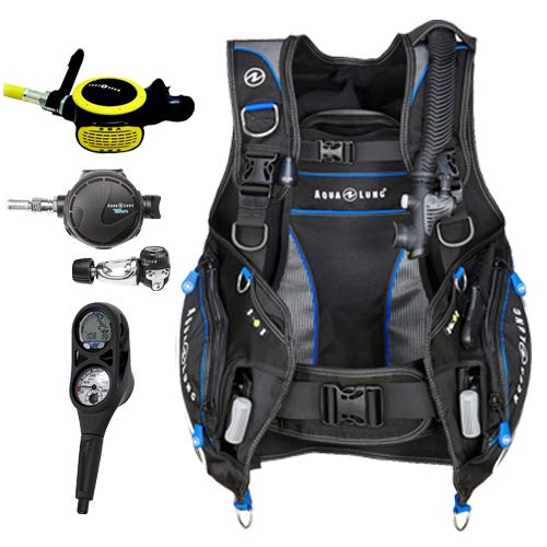 Aqua Lung Pro HD BCD i300C Dive Computer Titan / ABS Regulator Set (Best Scuba Gear Brands)